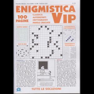 Enigmistica vip - mensile - n. 380 - febbraio 2020 - 100 pagine