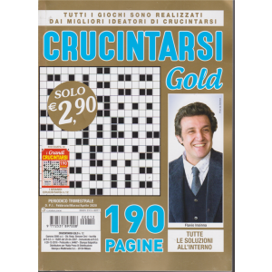 Crucintarsi Gold - n. 12 - trimestrale - febbraio - marzo - aprile 2020 - 190 pagine
