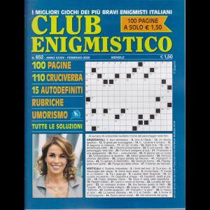 Club enigmistico - n. 652 - febbraio 2020 - mensile - 100 pagine