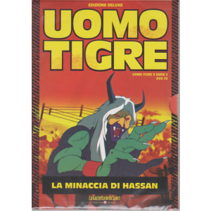 Uomo Tigre - La minaccia di Hassan - n. 25 -