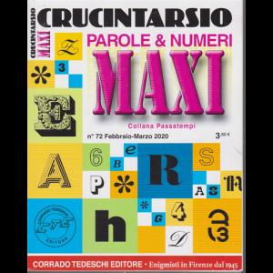 Maxi crucintarsio - n. 72 - febbraio - marzo 2020 - trimestrale -