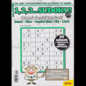 1,2,3...Sudoku! n. 173 - febbraio 2020 - mensile