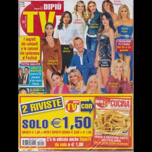 Dipiù Tv + Di più tv cucina - n. 4 - 27 gennaio 2020 - settimanale - 2 riviste