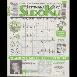 Settimana sudoku - n. 754 - settimanale - 24 gennaio 2020