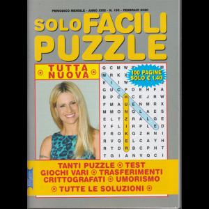 Solo facili puzzle - n. 195 - mensile - febbraio 2020 - 100 pagine