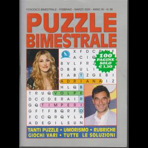 Puzzle bimestrale - n. 66 - bimestrale - febbraio - marzo 2020 - 100 pagine -