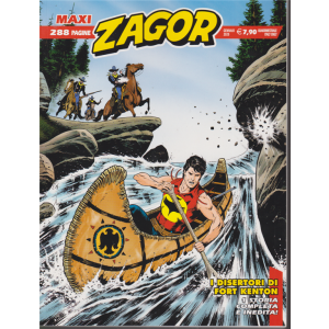 Maxi Zagor - n. 38 - gennaio 2020 - quadrimestrale - I disertori di Fort Kenton - 288 pagine