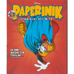 Paperinik - 60 anni insieme con Topolino...e altre storie - n. 22 - settimanale -