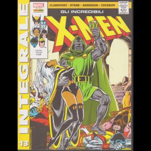 Marvel integrale - Gli incredibili x-men - n. 13 - mensile - 16 gennaio 2020 -
