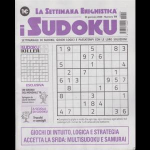 La settimana enigmistica - i sudoku - n. 79 - 23 gennaio 2020 - settimanale
