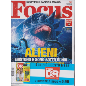 Focus + Focus D&R - n. 328 - febbraio 2020 - mensile- 2 riviste
