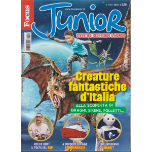 Focus Junior - n. 2 - mensile - febbraio 2020 -