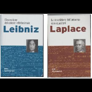 Geni della Matematica vol. 2/3 Laplace/Leibniz - edizione RBA Italia