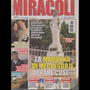 Miracoli e misteri - n. 3 - settimanale - 22 gennaio 2020