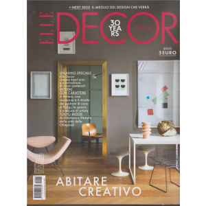 Elle Decor - n. 2 - mensile - febbraio 2020 - Abitare creativo