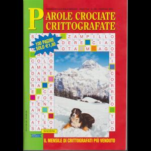 Parole crociate crittografate - n. 322 - mensile - febbraio 2020 - 100 pagine