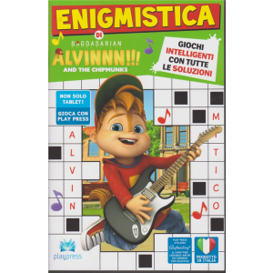 Enigmistica di Alvinnn!! And the chipmunks - n. 4 - febbraio - marzo 2020 - bimestrale