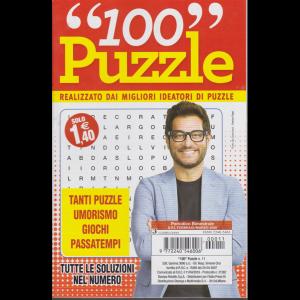 100 puzzle - n. 11 - bimestrale - febbraio -marzo 2020 -