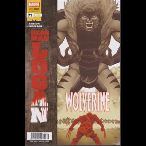 Marvel Wolverine - Dead man Logan - n. 397 - quindicinale - 23 gennaio 2020