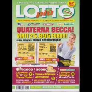 Lotto più - n. 376 - mensile - febbraio 2020 - 52 pagine!