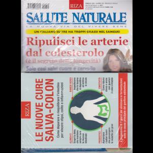 Salute naturale - n. 250 - febbraio 2020 - mensile - + il libro Le nuove cure salva - colon - rivista + libro