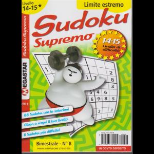 Sudoku supremo - n. 8 - bimestrale - 27/1/2020 - Limite estremo - livello 14-15