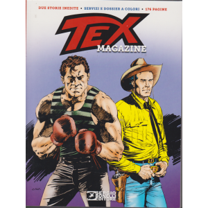 Tex magazine - n. 161 - 25 gennaio 2020 - bimestrale - 176 pagine