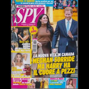 Spy - n. 4 - 24 gennaio 2020 - settimanale -