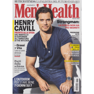 Men's Health - n. 213 - febbraio 2020 - mensile