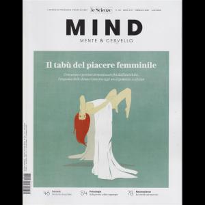 Le Scienze - Mind - Mente & Cervello - Il tabù del piacere femminile - n. 182 - febbraio 2020 - mensile