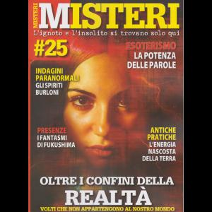 Misteri - n. 25 - 25/1/2020 - bimestrale