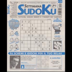 Settimana Sudoku - n. 755 - settimanale - 31 gennaio 2020 -