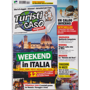 Turisti per caso magazine - n. 144 - febbraio 2020 - mensile -