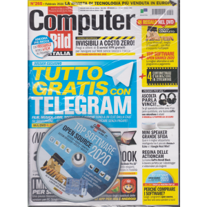 Computer Bild - n. 265 - febbraio 2020 - mensile - + dvd