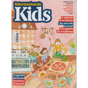 Internazionale kids - n. 5 - febbraio 2020 - mensile -