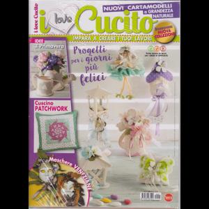 I love cucito - + Crea bomboniere - n. 27 - bimestrale - febbraio - marzo 2019 - 2 riviste