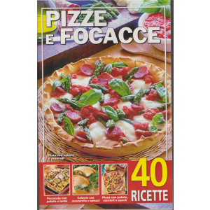Pizze e focacce - n. 5/2020 - 28/1/2020 - 40 ricette