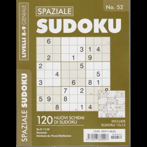 Spaziale Sudoku - livelli 8-9 geniale - n. 52 - bimestrale -