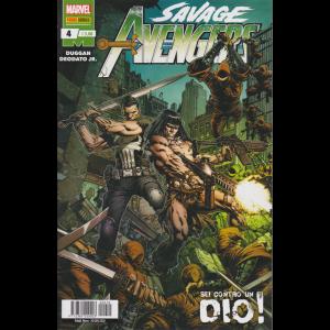 Savage Avengers - n. 4 - mensile - 30 gennaio 2020 . Sei contro un dio!