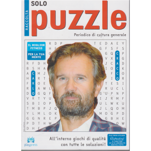 Raccolta solo puzzle - n. 61 - bimestrale - 30/1/2020 - Carlo Cracco