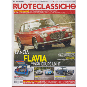 Ruoteclassiche + Leggenda Alfa Romeo - n. 374 - febbraio 2020 - mensile - 2 riviste