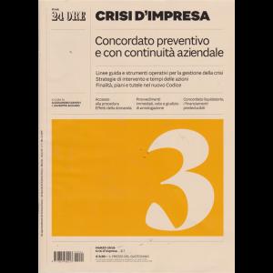 Crisi d'impresa - Concordato preventivo e con continuità aziendale - n. 1 - marzo 2019 - mensile