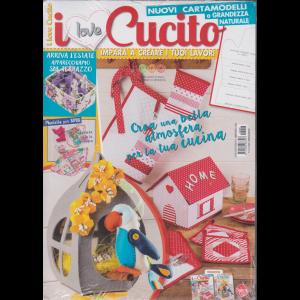 I love Cucito - n. 8 - bimestrale - febbraio - marzo 2020 - 2 riviste
