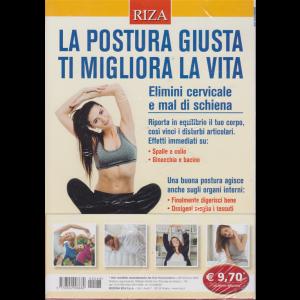 Riza Psicosomatica - n. 468 - febbraio 2020 - La postura giusta ti migliora la vita