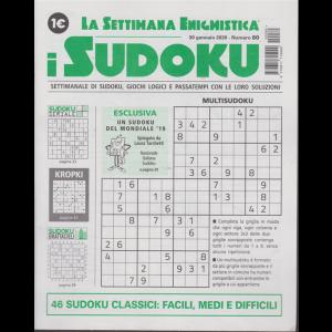 La settimana enigmistica - i sudoku - n. 80 - 30 gennaio 2020 - settimanale