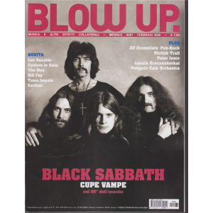 Blow up -n. 261 - mensile - febbraio 2020 -