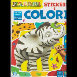 Zafari stickers e colori - n. 1 - febbraio - marzo 2020 - bimestrale