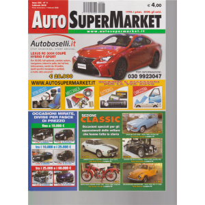 Auto SuperMarket - n. 2 - febbraio 2020 -