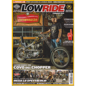 Lowride - n. 140 - febbraio 2020 - mensile