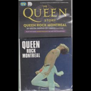 Gli speciali musicali di Sorrisi - n. 5 - 4 febbraio 2020 - The Queen story - Queen rock Montreal - uscita - n. 23 - doppio cd + libretto